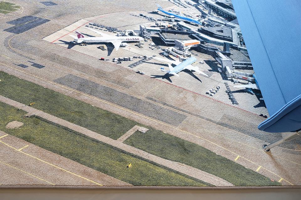 WVEO – Carpet vliegveld
